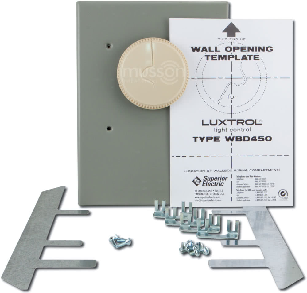 Luxtrol Wbd Series Wall Box Dimmer Myvariacwiringdiagram3jpg