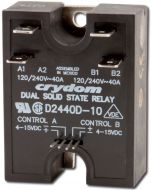 Crydom Dual 40A Solid State Relay (SSR)