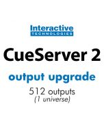 Additional Universe for CueServer 2