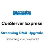 Streaming DMX Playback Option for CueServer Express