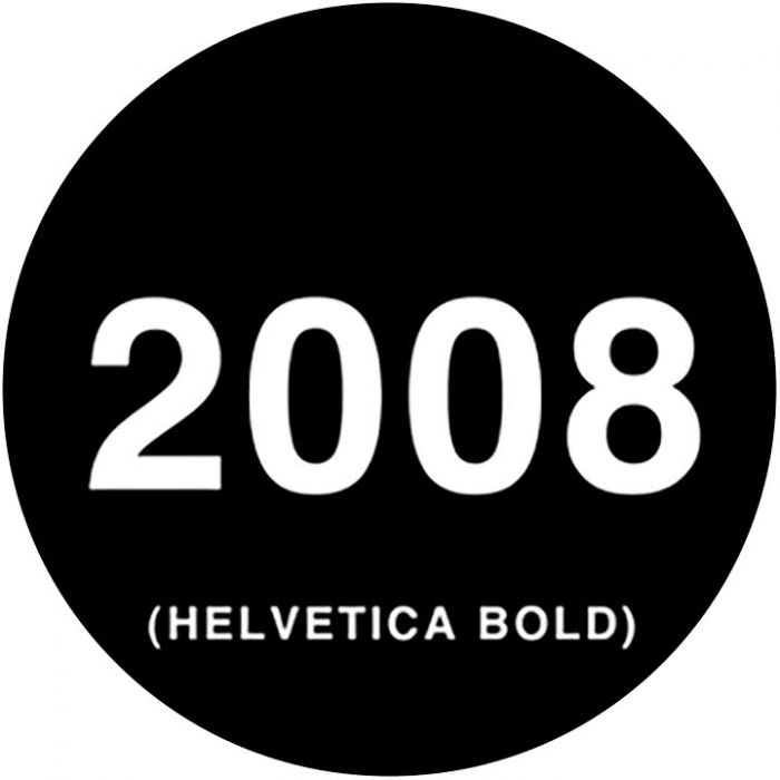 Rosco 78261 - Helvetica Dates, A-size