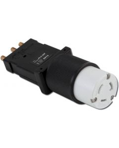 Male Stage Pin to Twistlock Female Adapter