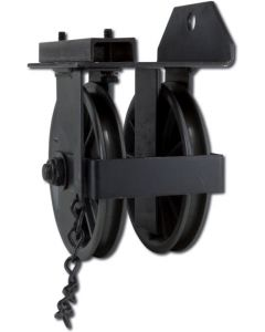 #433 Double End Pulley