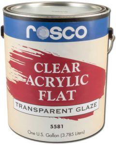 Clear Acrylic Glaze