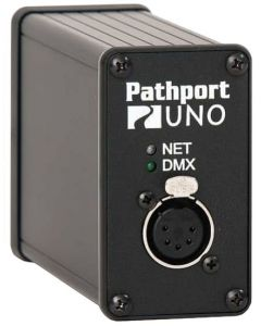 Pathport Uno 1-port DMX/RDM Gateway