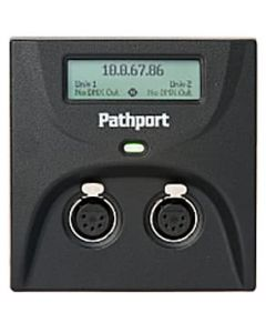 Pathport C-Series 2-port DMX/RDM Gateway