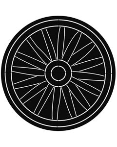 Rosco 78718 - Wagon Wheel