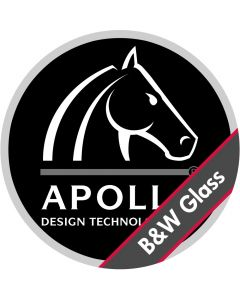 Apollo Custom Black & White Glass Gobo