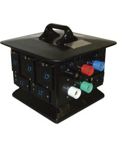 200A 3-phase to L6-20 Pagoda Moving Light Box