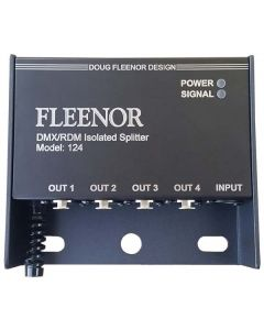 Fleenor 124 DMX/RDM Isolated Splitter
