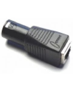 RJ45 to Male XLR Adapter for DMXcat
