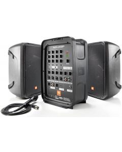 "Portable 8"" 2-Way PA with 8-Channel Powered Mixer and Bluetooth"