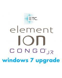 ETC Console Windows 7 Upgrade
