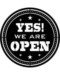 Apollo 9174 - Yes We Are Open