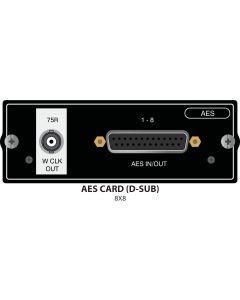 AES/EBU 8+8 Si Option Card