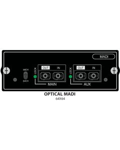 Multimode Optical MADI Si Option Card
