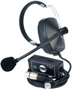 Que-Com Headset/Beltpack Combo